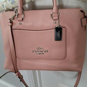 Coach soft leather bag. Excellent condition